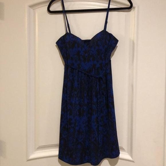 Forever 21 Dresses & Skirts - Blue Black Dress